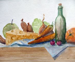 Stilleben, still life original painting